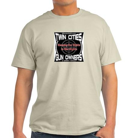 Twin Cities Gun Owners emblem T-Shirt
