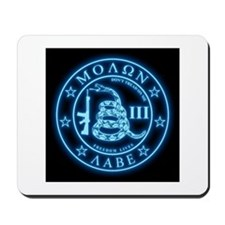 Come and Take It (Blueglow) Mousepad