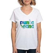 Punta Cana Azul y Verde T-Shirt