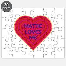 Mattie Loves Me Puzzle