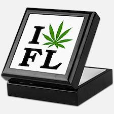 I Love Cannabis Florida Keepsake Box