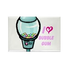 bubble gum day Rectangle Magnet