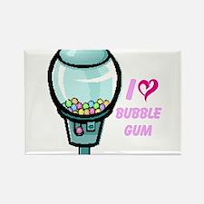 bubble gum day Rectangle Magnet