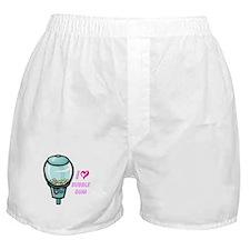 bubble gum day Boxer Shorts