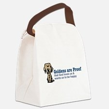 Goldens are Proof Canvas Lunch Bag