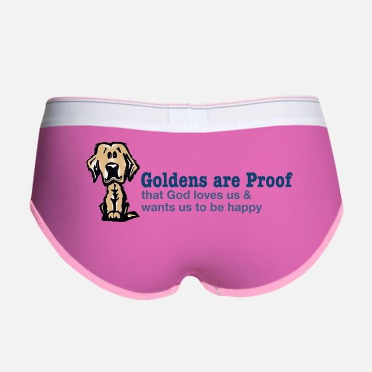 Goldens are Proof Women's Boy Brief