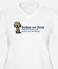Goldens are Proof Plus Size T-Shirt