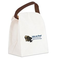 Labs are Proof Canvas Lunch Bag