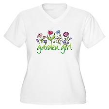 gardengirl2b.jpg Plus Size T-Shirt