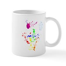Colorful Splatter Small Mug