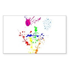 Colorful Splatter Decal
