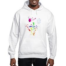 Colorful Splatter Hoodie