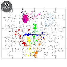 Colorful Splatter Puzzle