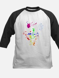 Colorful Splatter Baseball Jersey