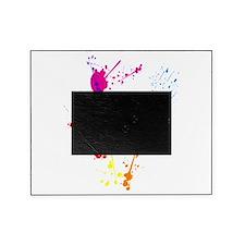 Colorful Splatter Picture Frame