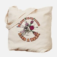 Blow Your Mind Read A Book Tote Bag