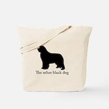 Newfoundland : The other black dog Tote Bag