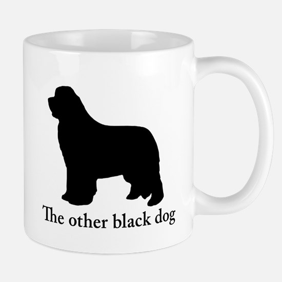 Newfoundland : The other black dog Mug