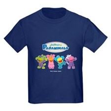 Peppy Pajanimals Kid's Dark T-Shirt