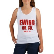 Ewing Oil Co. Dallas, TX Women's Tank Top