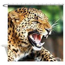 Beautiful Leopard Shower Curtain