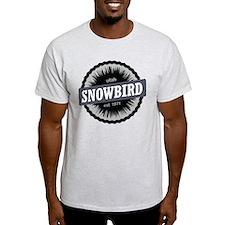 Snowbird Ski Resort Utah Black T-Shirt