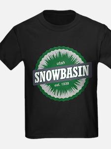 Snowbasin Ski Resort Utah Green T-Shirt