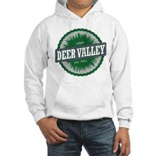 Deer Valley Ski Resort Utah Green Hoodie