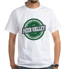 Deer Valley Ski Resort Utah Green T-Shirt