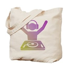 Colorful DJ Tote Bag