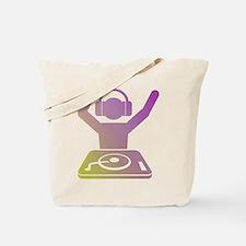 Colorful DJ Tote Bag