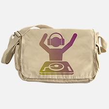 Colorful DJ Messenger Bag