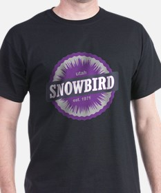 Snowbird Ski Resort Utah Purple T-Shirt