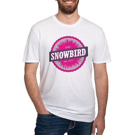 Snowbird Ski Resort Utah Pink T-Shirt
