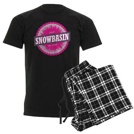 Snowbasin Ski Resort Utah Pink Pajamas