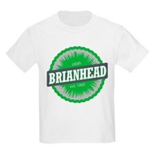 Brian Head Ski Resort Utah Lime Green T-Shirt