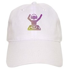 Colorful DJ Baseball Baseball Cap
