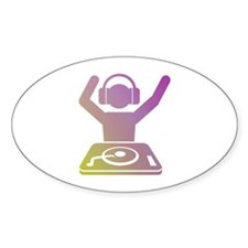 Colorful DJ Decal