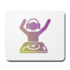 Colorful DJ Mousepad