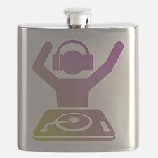 Colorful DJ Flask