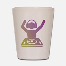 Colorful DJ Shot Glass