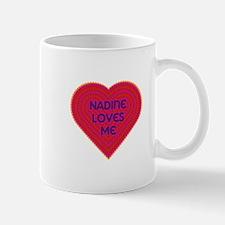 Nadine Loves Me Mug