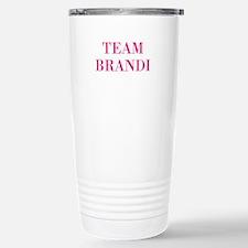 Team Brandi RHOBH Travel Mug