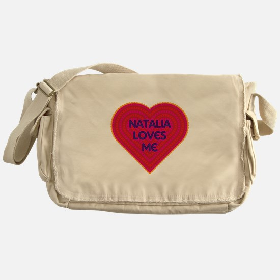 Natalia Loves Me Messenger Bag