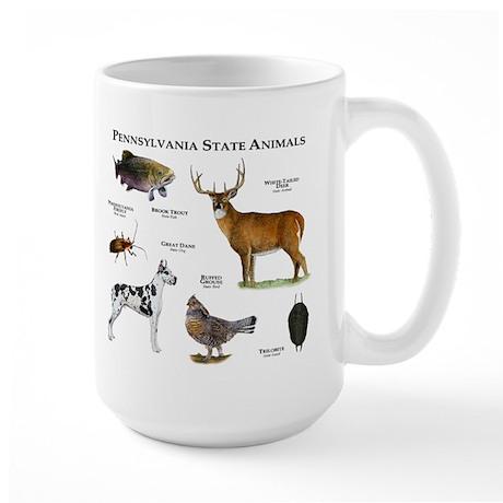 Pennsylvania State Animals Large Mug
