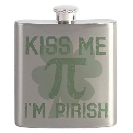 Kiss Me, Im Pirish Flask