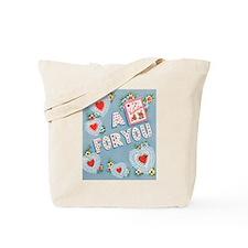 Vintage/Retro Valentine Tote Bag