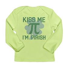 Kiss Me, Im Pirish Long Sleeve T-Shirt