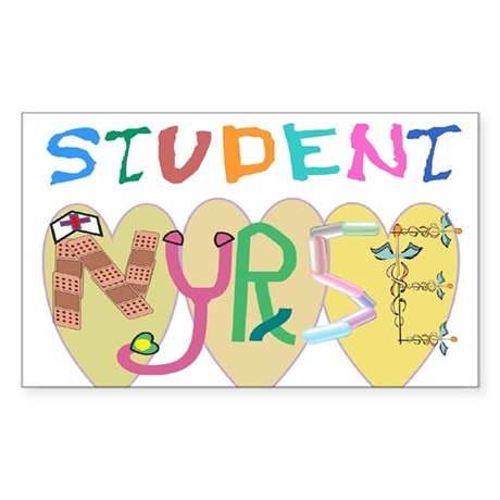 Nursing Student Sticker