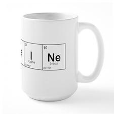 CaFFeINe (Black) Mug